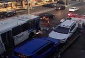 Acidente deixa trânsito congestionado no Rio vermelho | Foto: