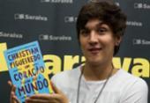 Christian Figueiredo lança livro em Salvador | Foto: Divulgação