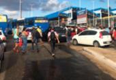 Rodoviários param de circular em estações | Foto:
