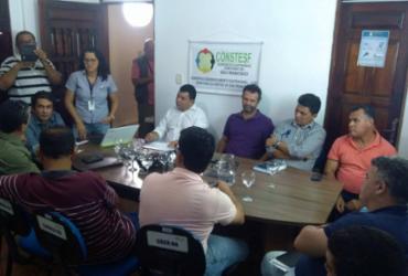 Recuperação de estradas e limpeza de aguadas são discutidas entre prefeitos e o Constesf