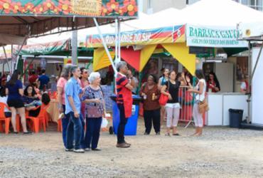 Feira da Fraternidade encerra neste domingo com shows, brincadeiras e gastronomia