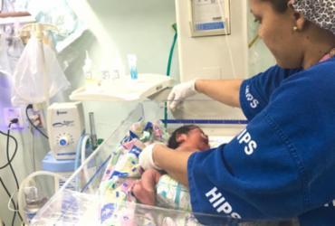 Hospital da Mulher, em Feira de Santana, participa da Semana da Prematuridade