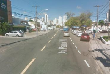Motociclista fica ferido em acidente na avenida Paulo VI