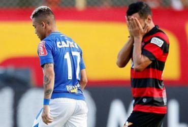 Leão vacila e leva empate do Cruzeiro no Barradão