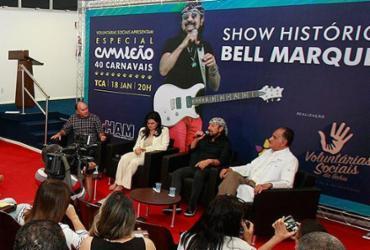 Bell faz show beneficente para ampliação de UTI do Aristides Maltez