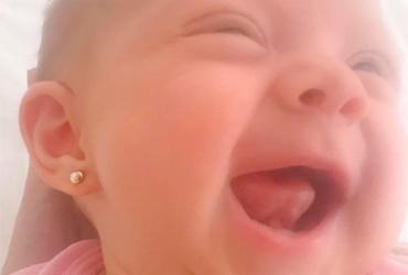 Eliana posta foto de filha sorrindo e se declara: 'Só gratidão. Só amor'