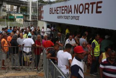 Bahia inicia venda de ingressos nesta quarta-feira