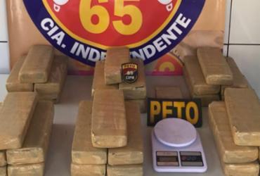 Feira de Santana: 30 kg de maconha são apreendidos em casa usada como esconderijo