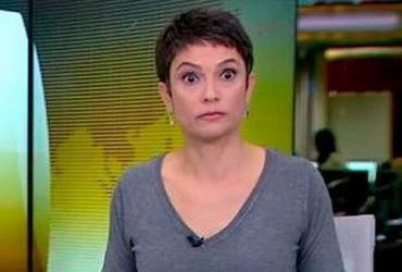 Sandra Annenberg se assusta ao ouvir médico xingar repórter