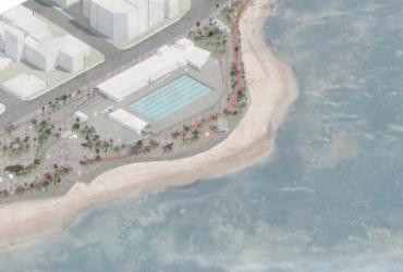 Ordem de serviço para instalação de piscina olímpica é assinada no sábado