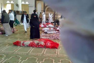 Número de mortos em ataque em mesquita no Egito avança para 235