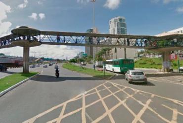 Trecho da Av. Tancredo Neves será fechado para remoção de passarela