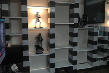 'Legos gigantes' viram móveis e divisórias para decorações versáteis   Everblock l Divulgação