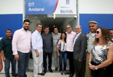 Delegacia Territorial é inaugurada em Andaraí