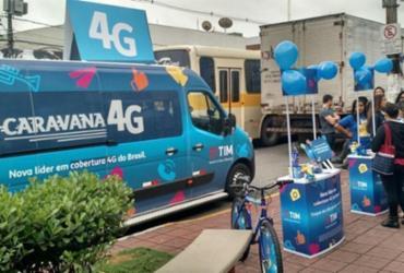 Municípios baianos recebem a Caravana 4G da TIM