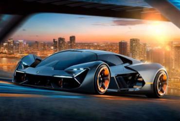 Lamborghini lança conceito elétrico com tecnologias para 2040