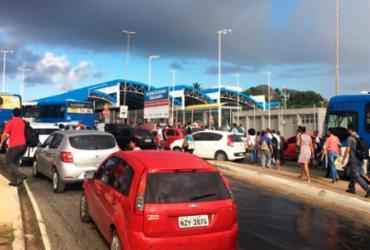 Rodoviários param de circular nas estações e causam transtorno em Salvador