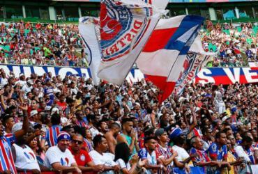 Campanha do Bahia mira público recorde no Brasileirão