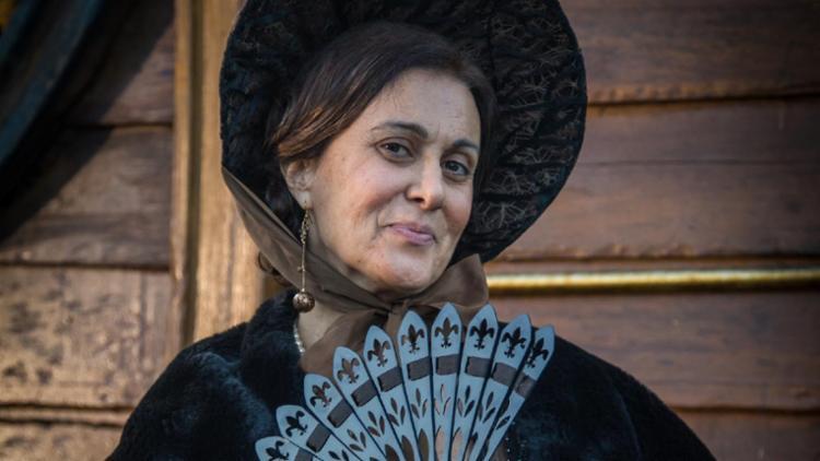 Márcia Cabrita, que luta contra o câncer no ovário, na novela