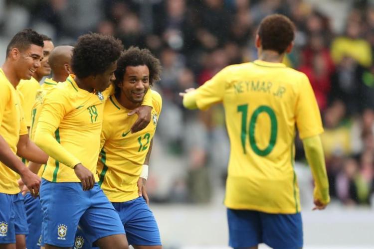 Brasil teve pouco trabalho para vencer a fraca equipe japonesa - Foto: Lucas Figueiredo | CBF