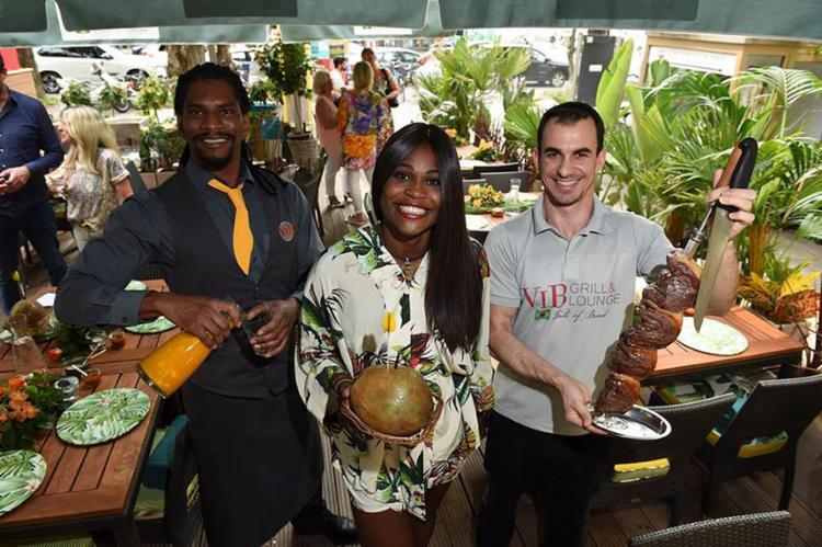 A baiana Simone é dona do restaurante brasileiro VIB Grill & Lounge em Munique, na Alemanha - Foto: BrauerPhotos l G. Nitschke