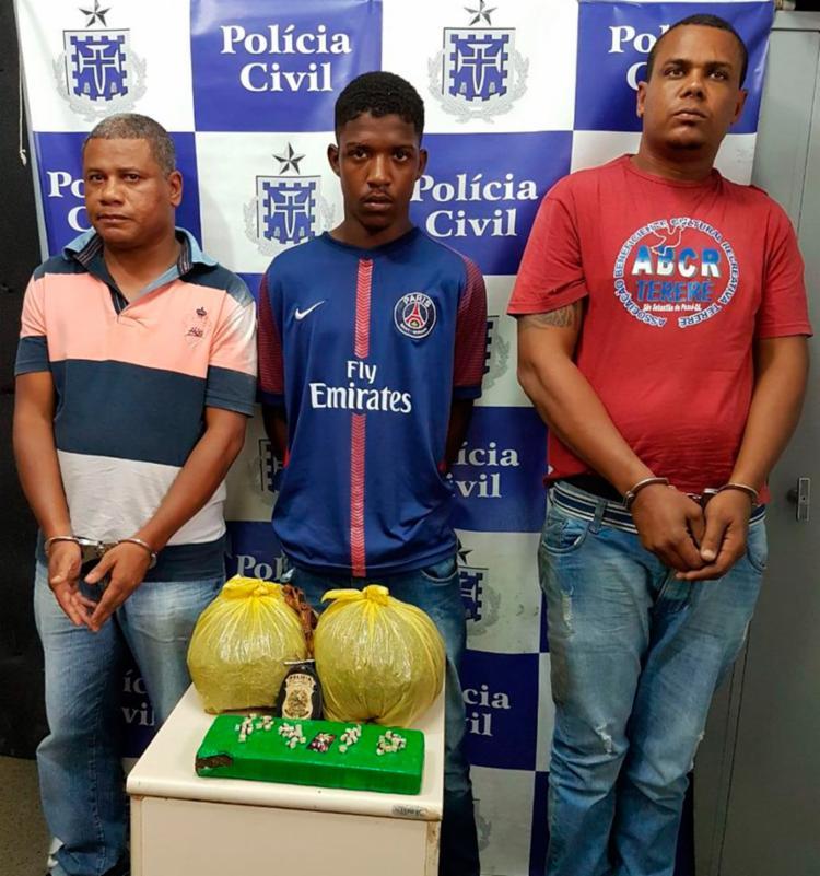 Todos foram flagrados no bairro de Campinas de Pirajá - Foto: Divulgação | SSP-BA