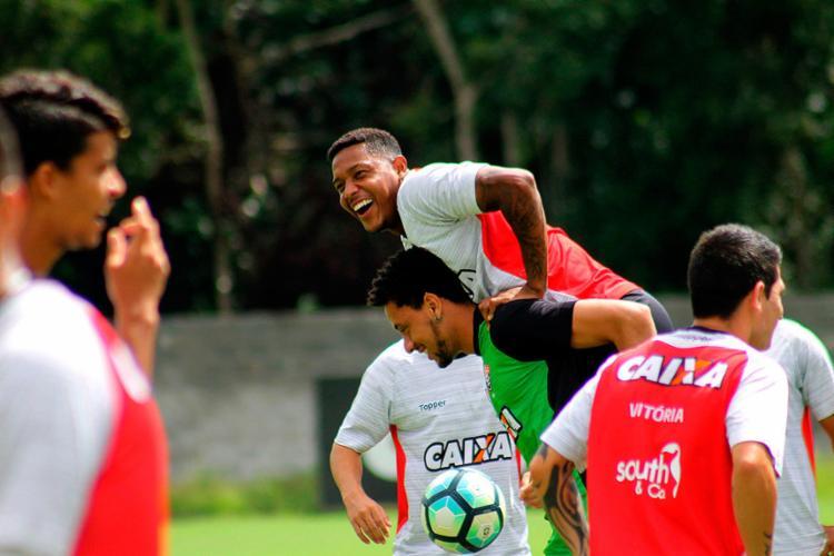 Ambiente está legal, jogadores estão unidos e cheios de esperança para tirar o Leão de situação complicada - Foto: Maurícia da Matta | EC Vitória
