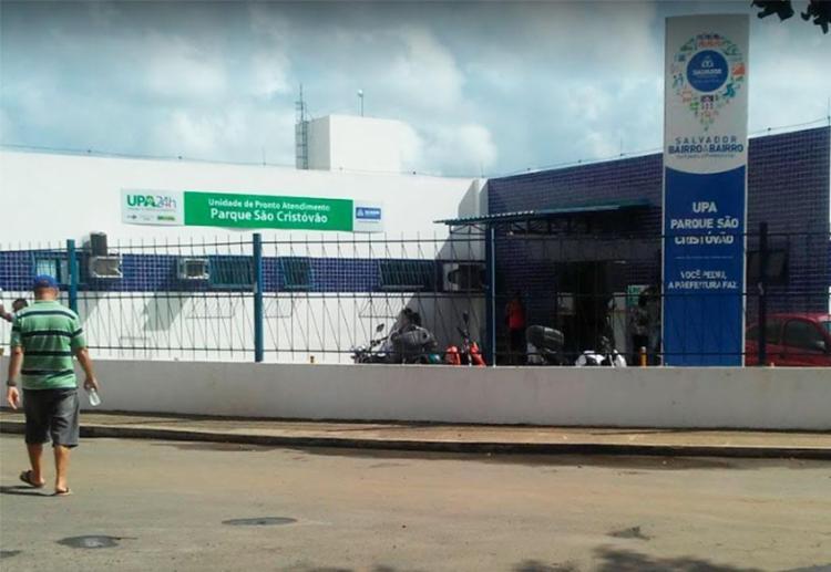 Vítimas estão internadas na Upa de São Cristóvão - Foto: Reprodução | Google Maps