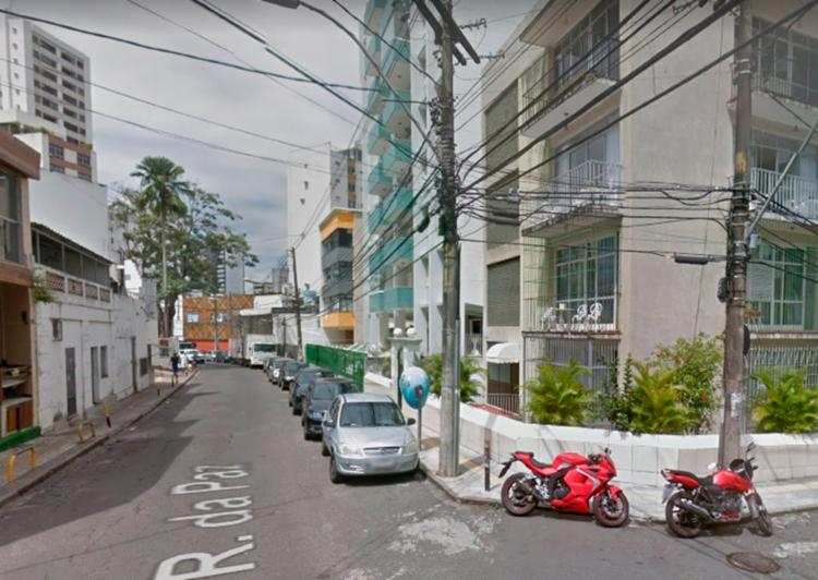 Atentado aconteceu na Rua da Paz, no bairro da Graça - Foto: Reprodução | Google Maps
