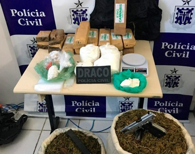 Material apreendido pela polícia durante ação - Foto: Divulgação | SSP-BA