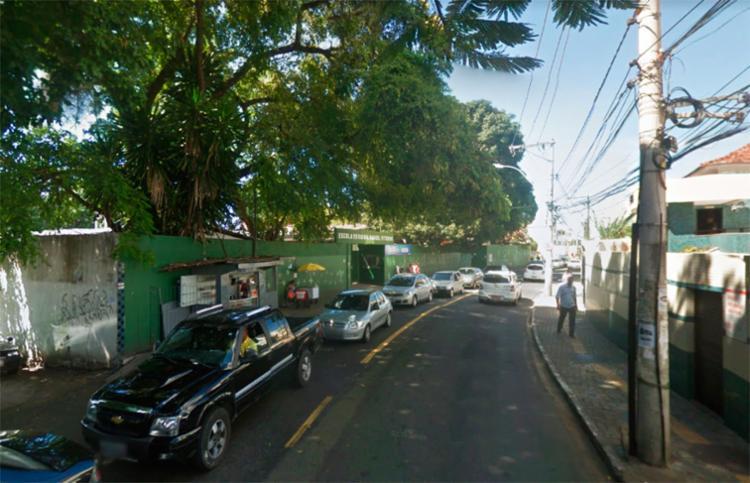 O tráfego é intenso nos dois sentidos da rua Waldemar Falcão, em Brotas - Foto: Reprodução | Google Maps