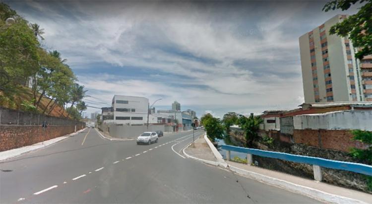 Corpo foi achado próximo ao bairro do Rio Vermelho - Foto: Reprodução | Google Maps