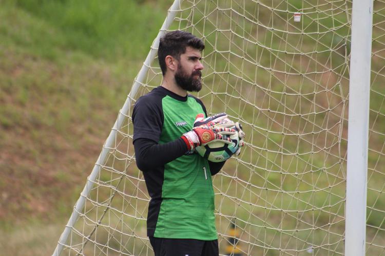 Arqueiro ficou de fora por sete jogos, se recuperando de uma inflamação no pé - Foto: Maurícia da Matta l EC Vitória