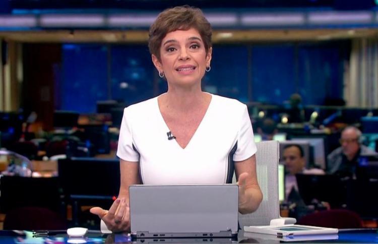 Renata Lo Prete comanda Jornal da Globo desde afastamento de Waack - Foto: Reprodução | Jornal da Globo