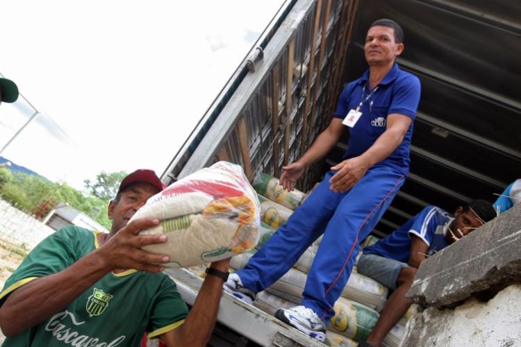 O trinômio arroz, feijão e carne foi responsável por 34,99% do valor de uma cesta básica - Foto: Carla Ornelas/Divulgação