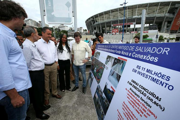 Obras de infraestrutura urbana foram entregues nesta segunda-feira, 13 - Foto: Manu Dias l Gov-BA