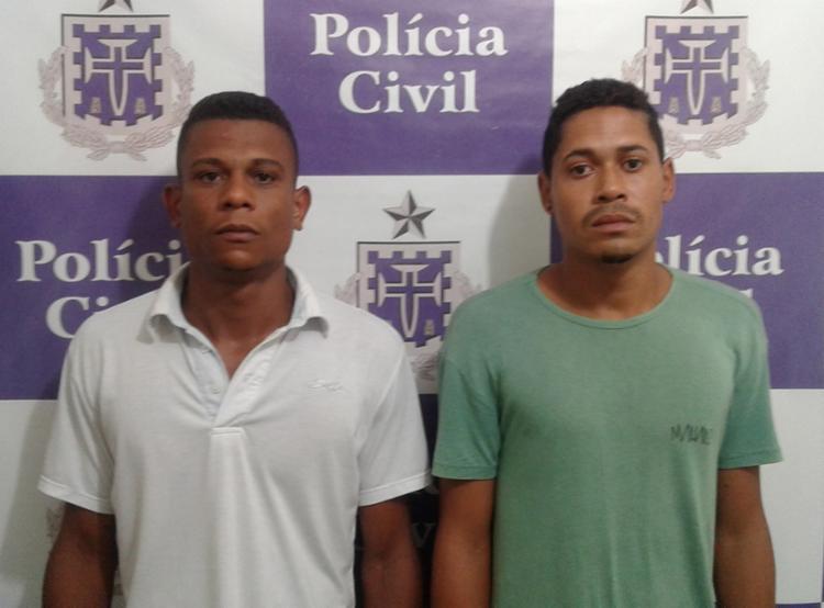 Silvanderson e Sivanilton estão custodiados no Complexo Policial de Jacobina - Foto: Divulgação | Polícia Civil