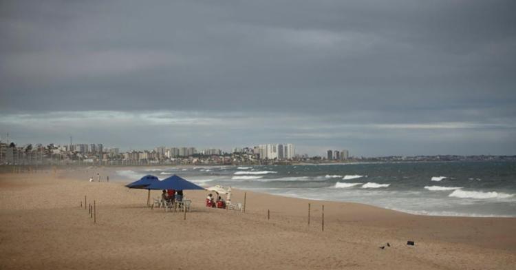 Previsão de chuva em Salvador deve atrapalhar programação na praia - Foto: Joá Souza | Ag. A TARDE