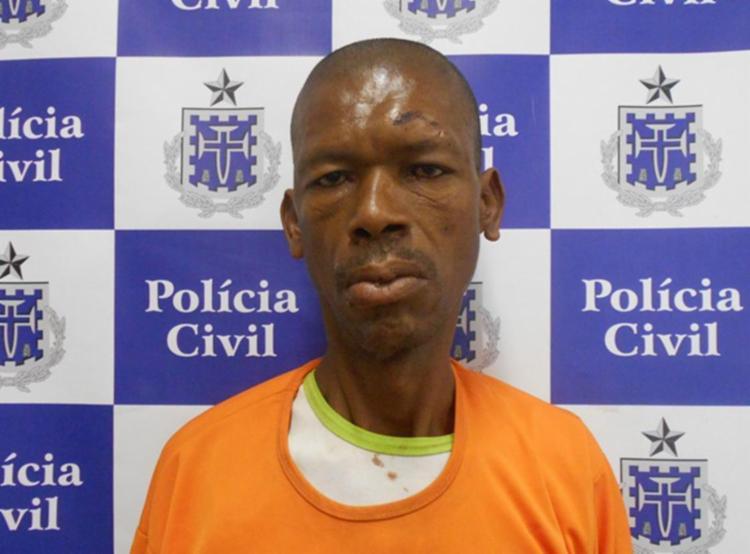 Edmilson já foi encaminhado ao sistema penitenciário - Foto: Divulgação   SSP-BA