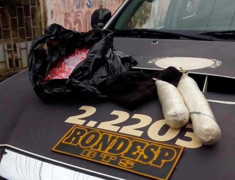 A suspeita é de que o material seria utilizado em assaltos a bancos em Salvador - Foto: Divulgação | SSP-BA