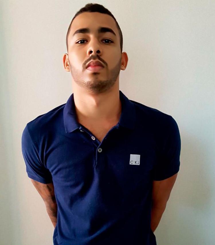 Rodrigo Ferreira do Bonfim, 22 anos, tinha sido preso no dia 5 de setembro - Foto: Divulgação | SSP-BA