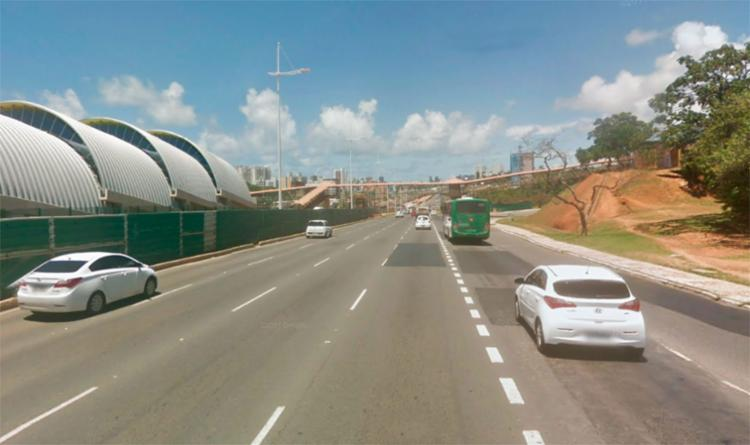 Motoristas devem ficar atentos as mudanças na região por conta do bloqueio - Foto: Reprodução | Google Maps