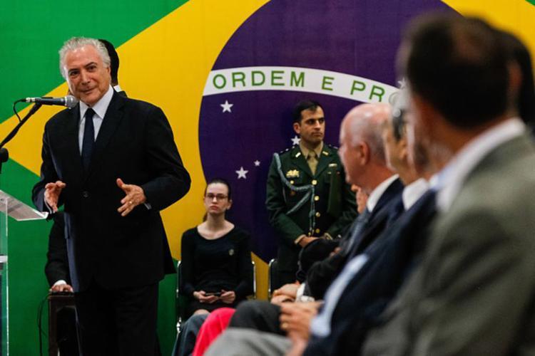 Em Itu, o presidente diz que é preciso 'governar com espírito de abertura, fazendo harmonia entre Poderes' - Foto: Marcos Corrêa l PR
