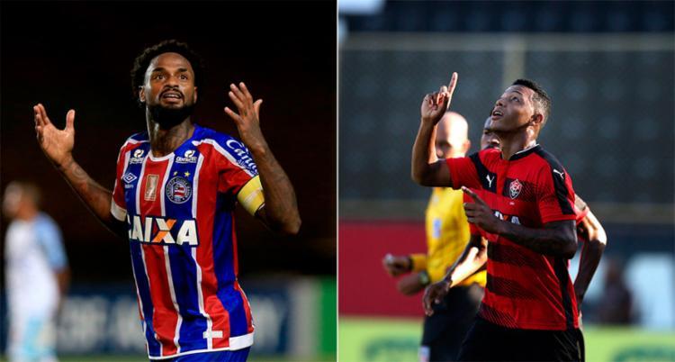 Gols de Renê Júnior e David aparecem na lista da CBF - Foto: Felipe Oliveira | EC Bahia e Raul Spinassé | Ag. A TARDE