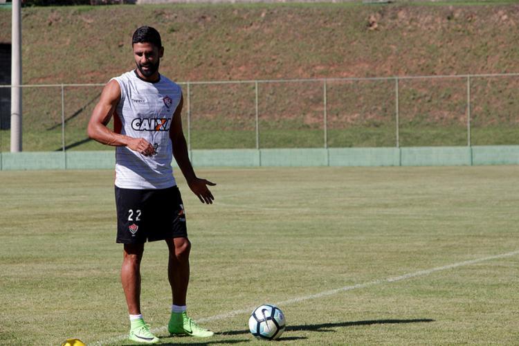 Artilheiro, Tréllez está confirmado para o jogo desta quina-feira - Foto: Moysés Suzart l EC Vitória l Divulgação