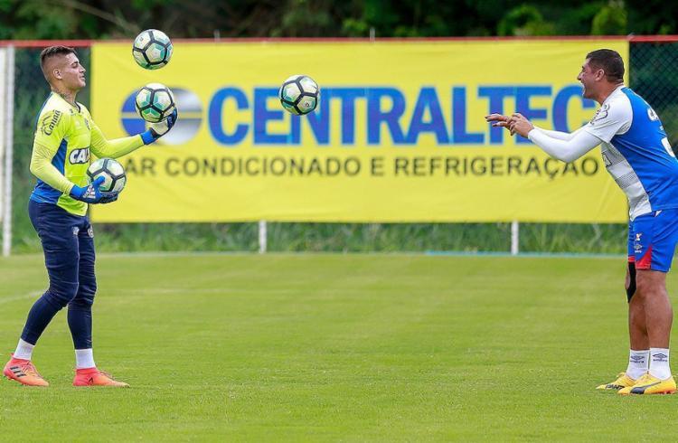 Jean Fernandes, pai de Jeanzinho, era o goleiro do Bahia na vitória em 1994 - Foto: Marcelo Malaquias l EC Bahia