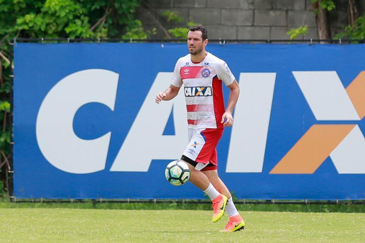 Fonseca já tem 152 partidas com a camisa do Bahia - Foto: Marcelo Malaquias | EC Bahia | Divulgação