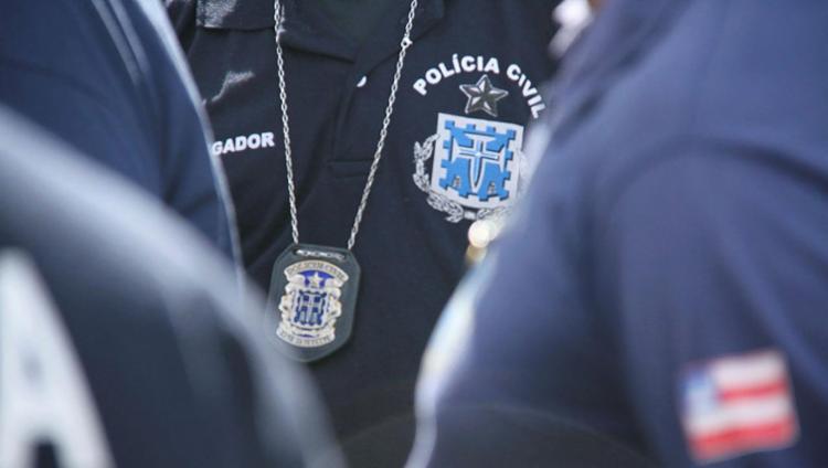 Suspeito já foi preso por outros crimes na justiça, como furto, roubo e estelionato - Foto: Divulgação | SSP | Alberto Maraux