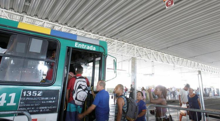Linhas como Cajazeiras 10, Castelo Branco e Valéria sofreram mudanças - Foto: Mila Cordeiro | Ag. A TARDE