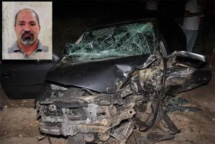 Carlos Antônio não resistiu a colisão - Foto: Raimundo Mascarenhas | Reprodução | Calila Notícias